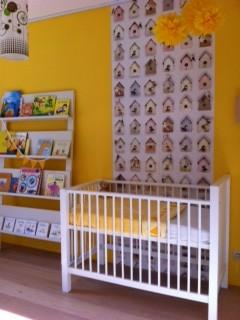 de gele babykamer van mijn dochter lenthe - mommy measure, Deco ideeën